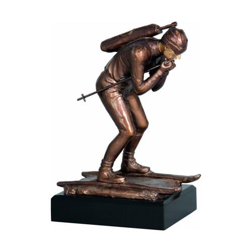 Statuetka odlewana - NARCIARSTWO