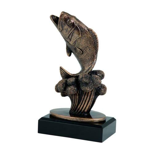 Statuetka odlewana - WĘDKARSTWO (3 wielkości)