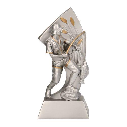 Statuetka odlewana - WĘDKARSTWO