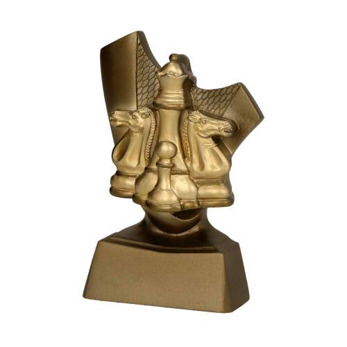 Statuetka odlewana - SZACHY