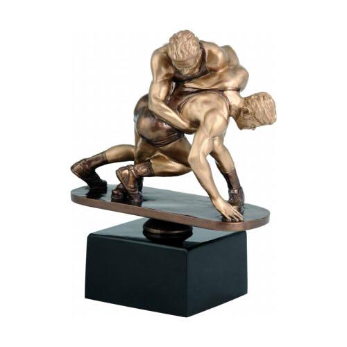 Statuetka odlewana - ZAPASY